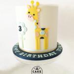 Giraffe, cake, birthday, Melbourne, baby shower, christening