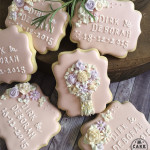Wedding Favours, Made In Melbourne, Cookies made to order, decorated cookies, favours as cookies