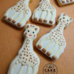 Cake In The Afternoon Melbourne - 2 Sophie Le Giraffe Cookies