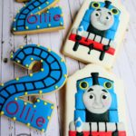 Cake In The Afternoon Melbourne - Thomas Train Cookies Cookies