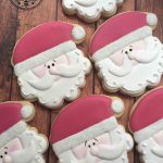 Cake In The Afternoon - Made In Melbourne Santa Christmas Cookies