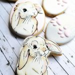 Cake In the Afternoon Melbourne - HANDPAINTED FLOPPY EARED BUNNY