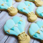 Hot air balloon cookies