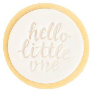 hellolittleone-cookie