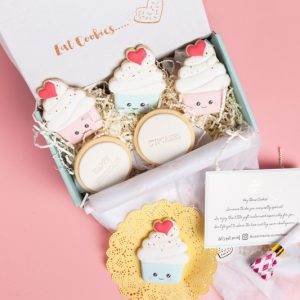 gift box, cookie gift box, send cookie gift hamper, shipped Australia wide, send cookie hamper, cookies as gifts, cookie bouquet
